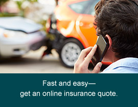 Get an online auto insurance quote