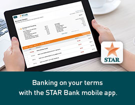 Bank on your terms with the STAR Bank mobile app