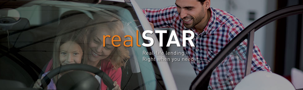 realSTAR Loans - Real-life lending. Right when you need it.