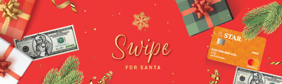 Swipe for Santa