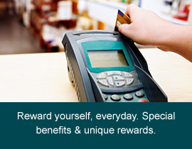 Reward yourself every day with a STAR Credit Card.